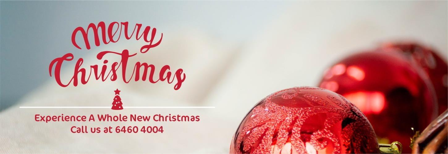 Christmas Catering Banner