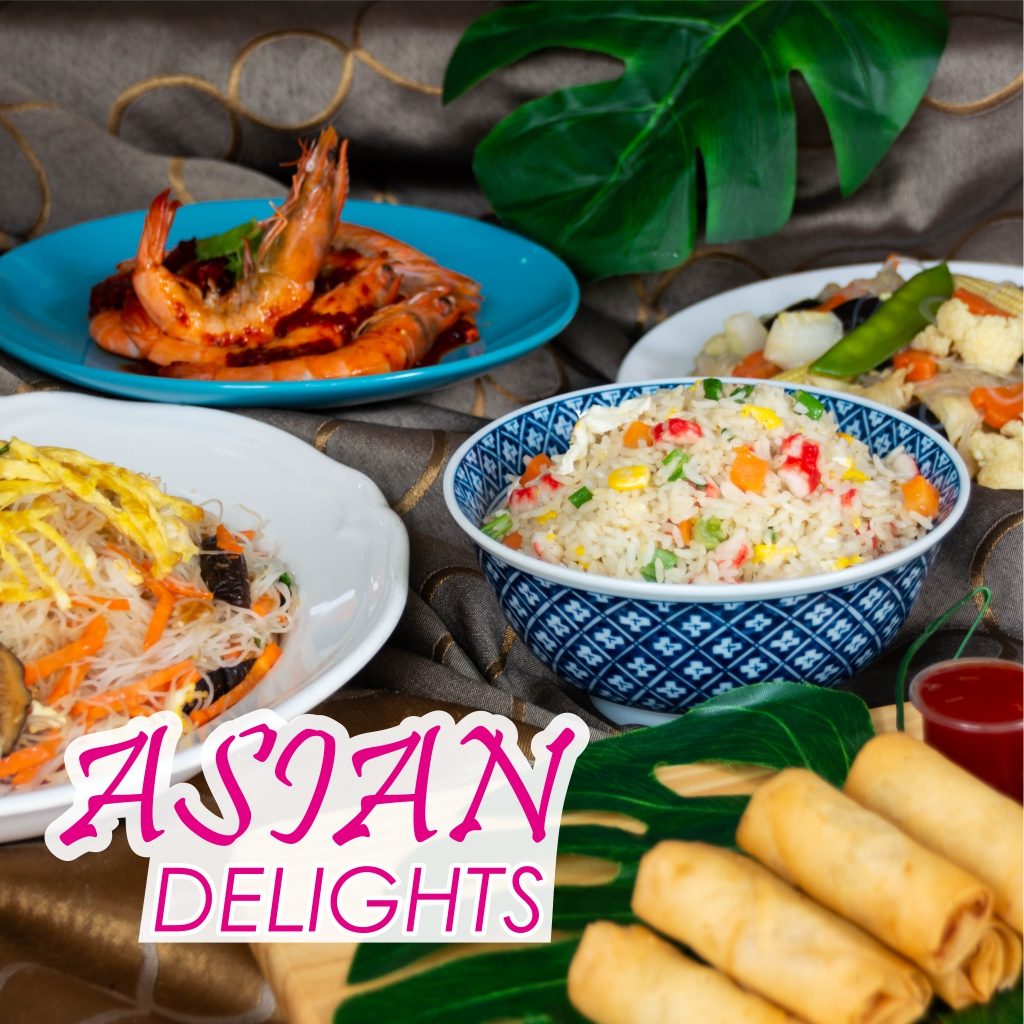Asian Delights Deluxe Buffet
