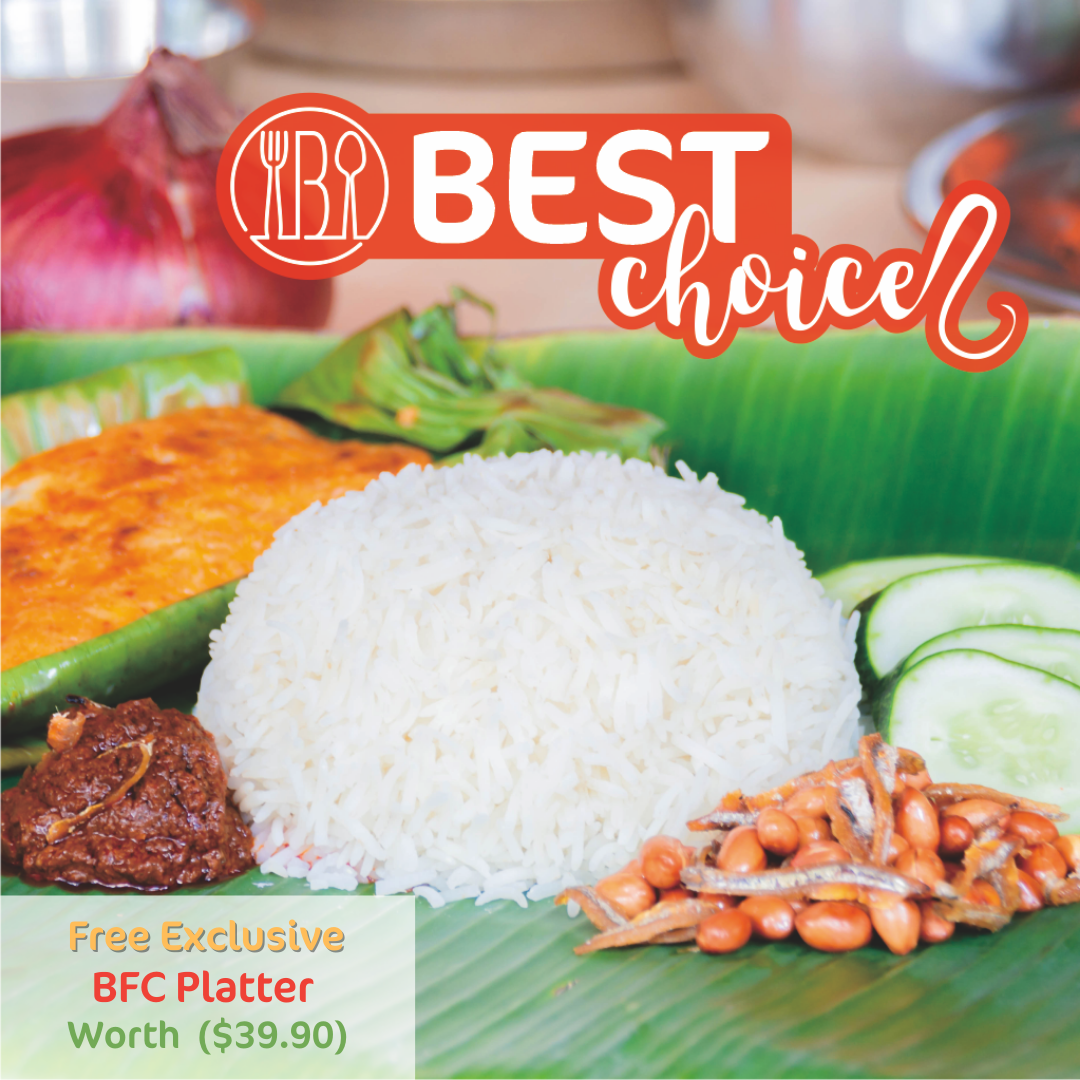 BEST Nasi Lemak Mini Buffet Set